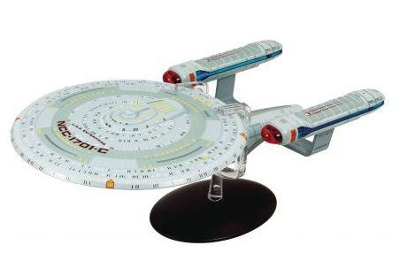 Star Trek Starships Figure Collection U.S.S. Enterprise NCC-1701-C