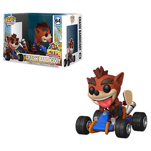 Pop! Rides Crash Bandicoot Vinyl Figure Cash Bandicoot #64