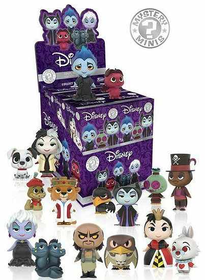 Funko Mystery Minis Disney Villains Blind Box