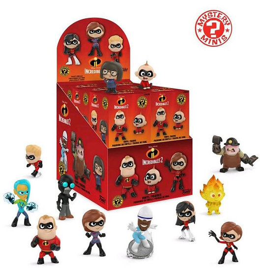 Funko Mystery Mini Disney: Incredibles 2