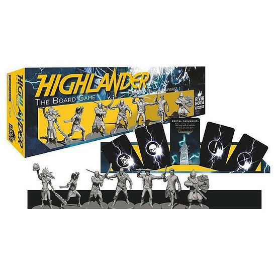 Highlander Princes of the Universe Expansion Sculpted Miniatures Board Game