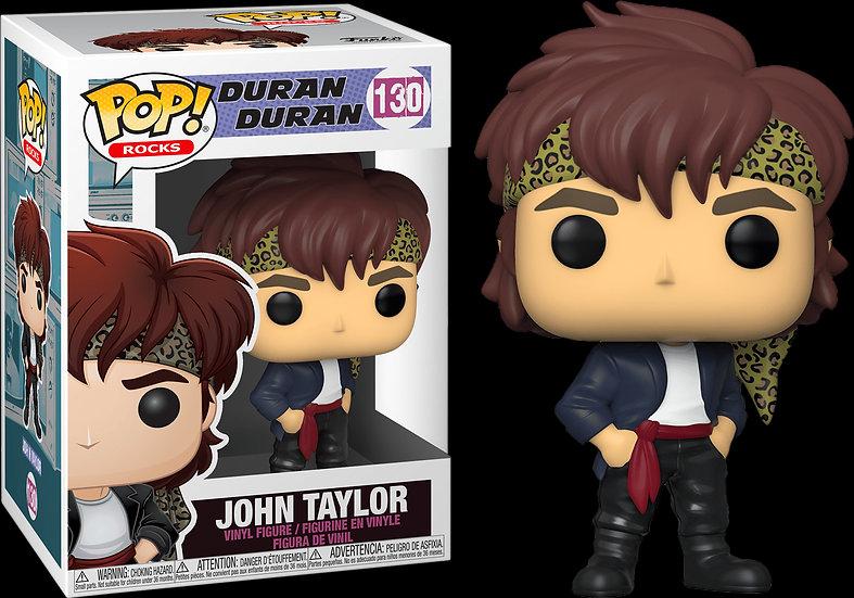 Pop! Rocks Duran Duran Vinyl Figure John Taylor #130