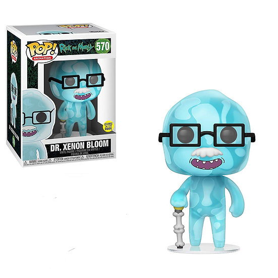 Pop! Animation Rick and Morty Vinyl Figure Dr. Xenon Bloom #570 Glows