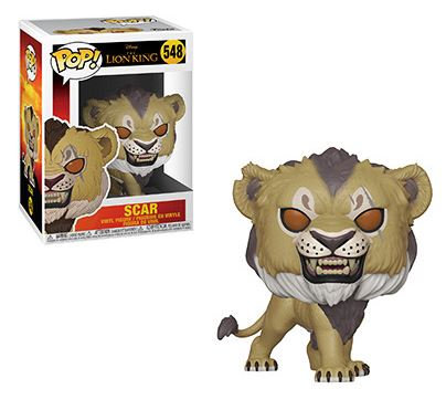 Pop! Disney Lion King Vinyl Figure Scar #548