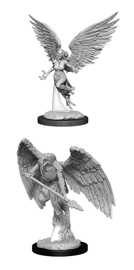 Dungeons & Dragons Nolzur's Marvelous Miniatures: HARPY AND ARAKOCRA