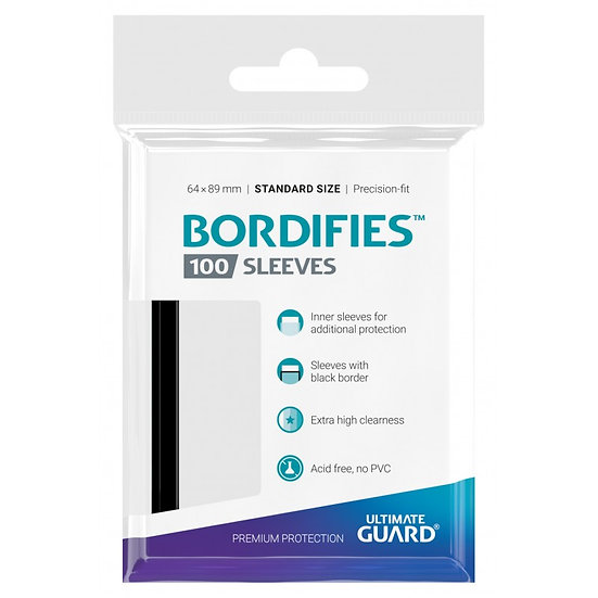 Ultimate Guard Bordifies™ Sleeves Standard Size