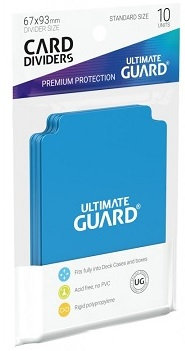 Ultimate Guard: Card Dividers: Light Blue