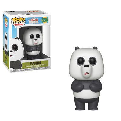 Pop! Animation We Bare Bears Vinyl Figure Panda #550