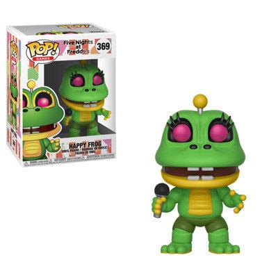 Pop! Games Five Nights at Freddy's Pizza Simulator Vinyl Figure Happy Frog #369