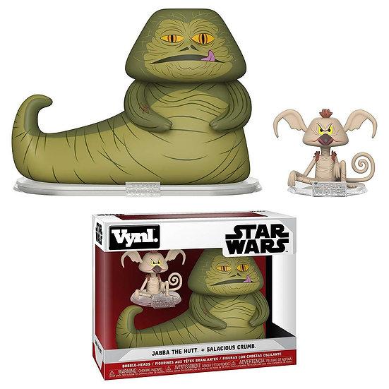 Vynl Star Wars Jabba The Hutt & Salacious Crumb Vinyl Collectible
