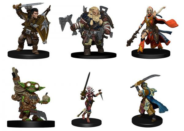 Pathfinder Battles: Playtest Heroes: Iconic Heroes Evolved