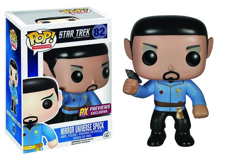 Pop! Television Star Trek Vinyl Figure Mirror Universe Spock #82 PX Exclusive