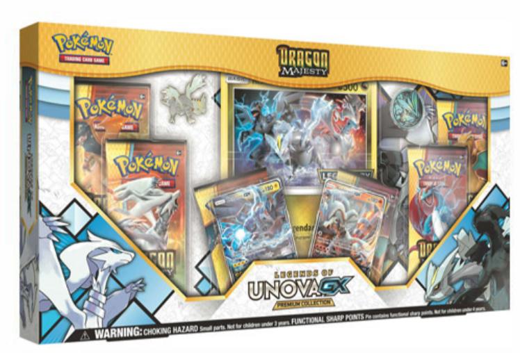 Pokemon GX Box - Dragon Majesty: Unova GX Premium Collection