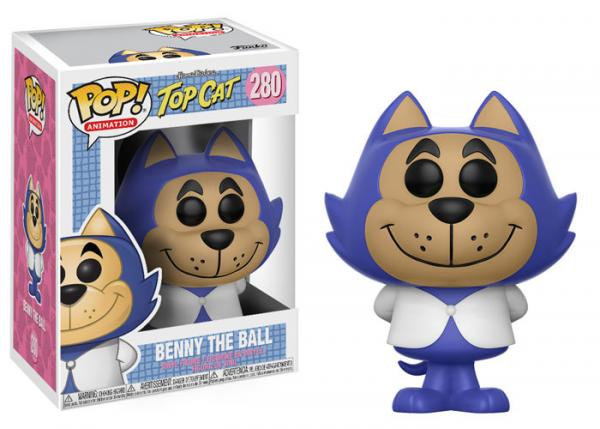 Pop! Animation Top Cat Vinyl Figure Benny the Ball #280 (Vaulted)