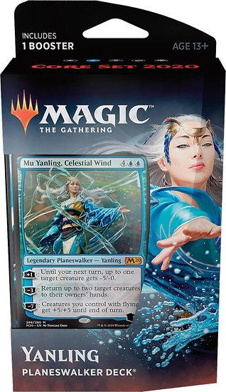 Magic the Gathering: Core Set 2020- Planeswalker Deck - Yanling