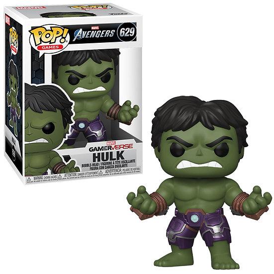 Pop! Games Marvel Avengers Vinyl Bobble-Head Hulk #629