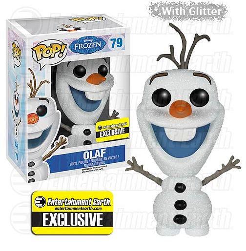 Pop! Disney Frozen Vinyl Figure Olaf #79 Entertainment Earth Exclusive