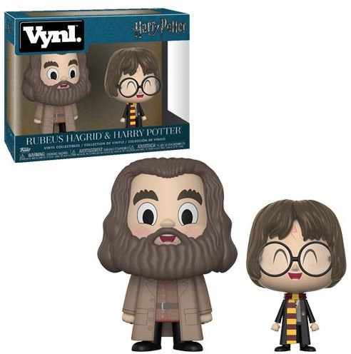 Harry Potter and Hagrid 2-pack VYNL Figure