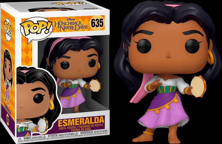 Pop! Disney Hunchback of Notre Dame Vinyl Figure Esmeralda #635
