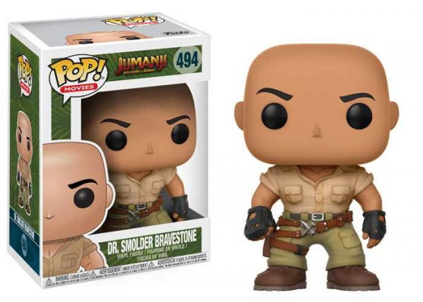 Pop! Movies Jumanji: Welcome to the Jungle Vinyl Figure Dr. Smolder Bravestone #