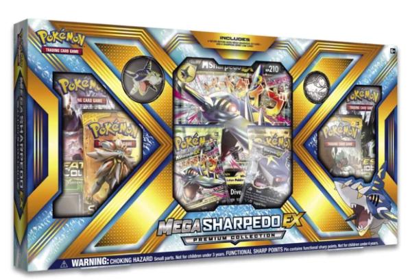 Pokémon TCG: Mega Sharpedo-EX Premium Collection