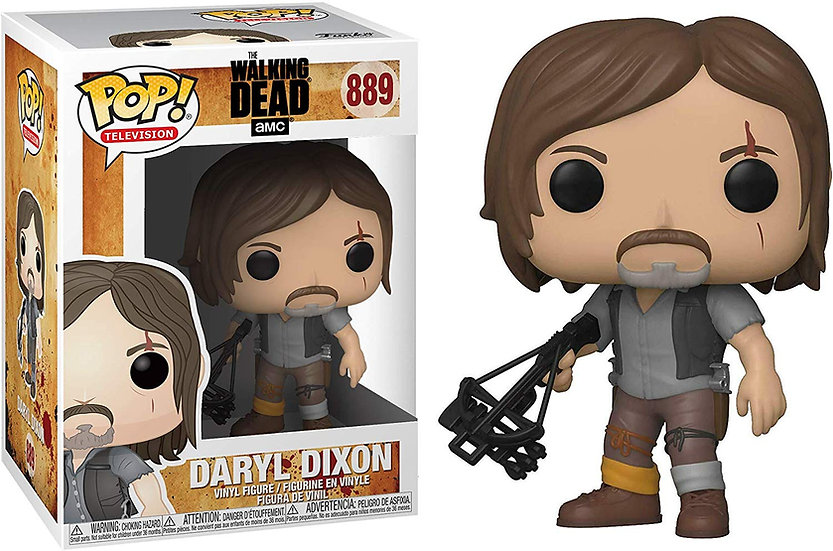 Pop! Television The Walking Dead Vinyl Figure Daryl Dixon #889