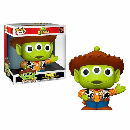 """Pop! Disney Pixar 10"""" Alien As Woody Vinyl Figure #756"""