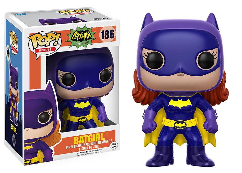 Pop! Heroes Classic Batman Vinyl Figure Batgirl (1966) #186