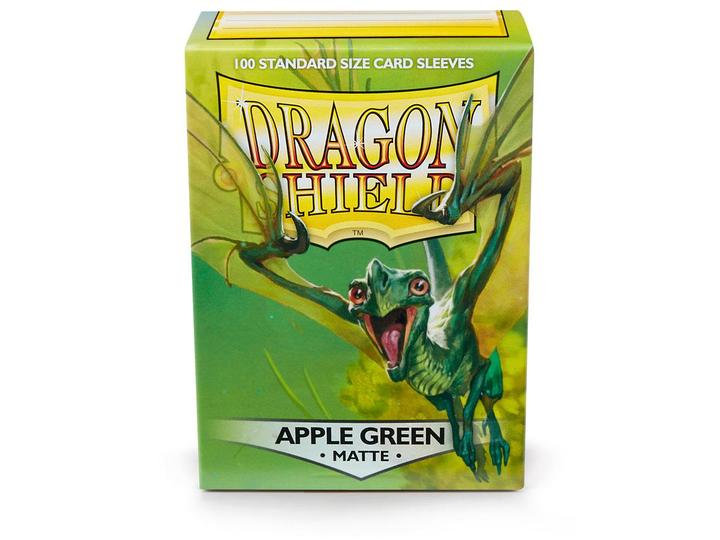 Dragon Shields: Matte Card Sleeves (100): Apple Green
