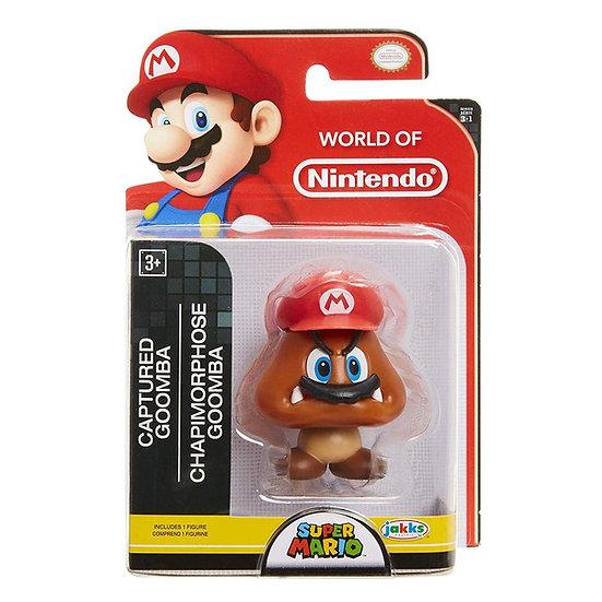 World of Nintendo Super Mario Wave 18 Captured Goomba 2.5-Inch Mini Figure