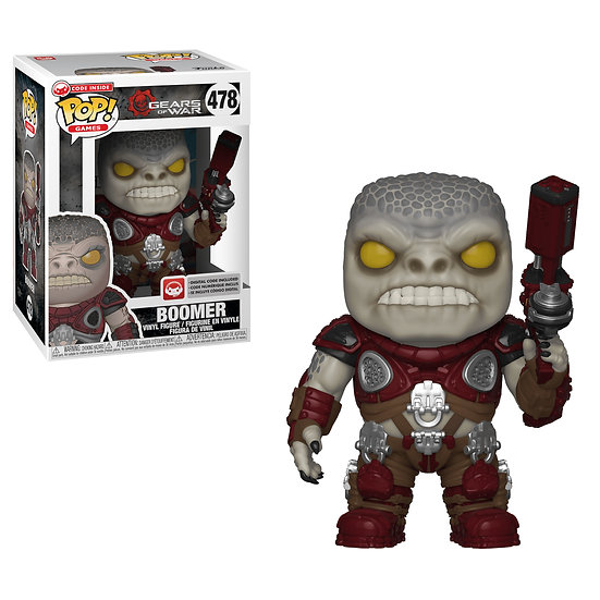 Pop! Games Gears of War Vinyl Figure Boomer #478