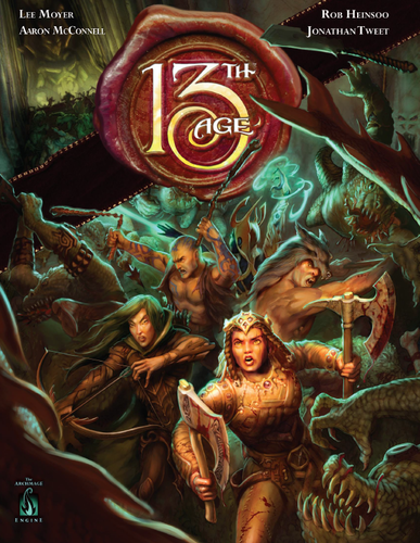 13th Age (Core Rules Hardcover)