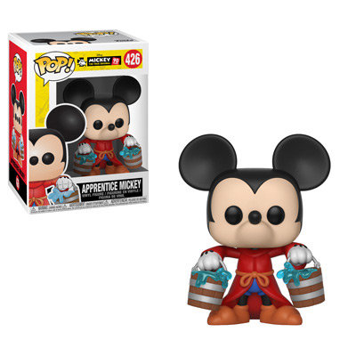 Pop! Disney Mickey 90th Anniversary Vinyl Figure Apprentice Mickey #426