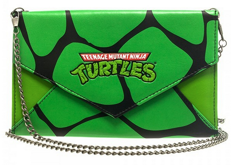 Teenage Mutant Ninja Turtles Wallet W/Chain
