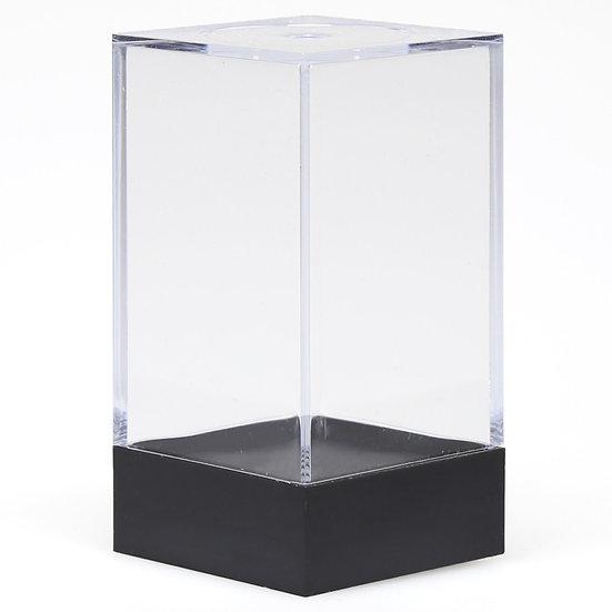 """Plastic Figure Display Box: Medium (2.25"""" x 1.75"""" x 1.75"""")"""