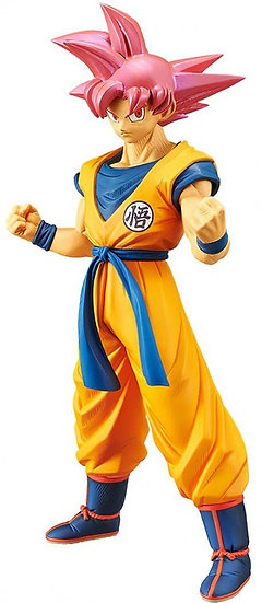 Dragon Ball Super Cyokoku Buyuden Collection Super Saiyan God Son Goku 8.4 F