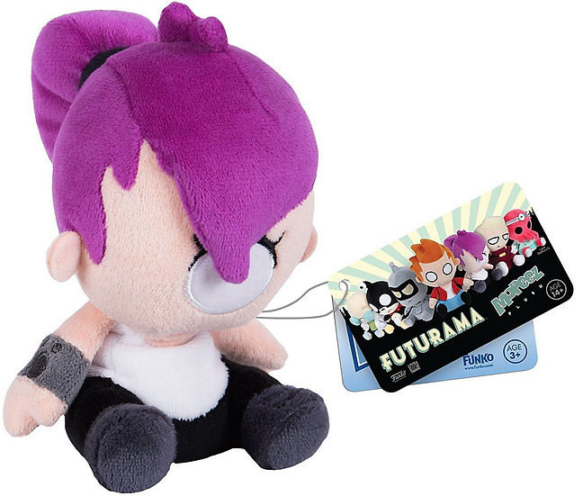 Funko Mopeez Futurama Leela Soft Toy Soft Plush Figure 6""