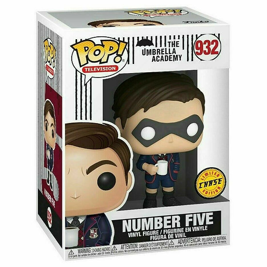 Funko - POP TV: Umbrella Academy - Number Five #935 LIMITED CHASE