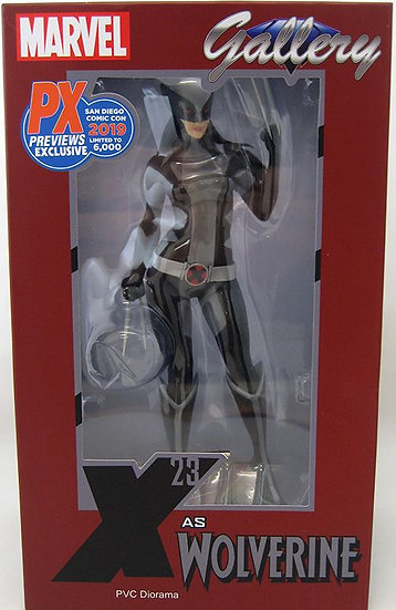 Marvel Gallery 10 Inch Statue Figure X-Men - X-Force X-23 SDCC 2019