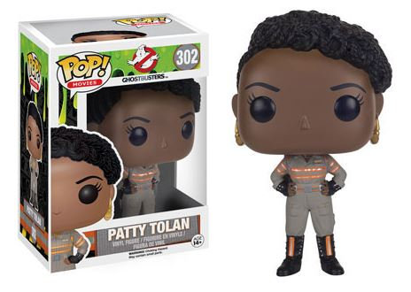 Pop! Movies Ghostbusters (2016) Vinyl Figure Patty Tolan #302 (Vaulted)