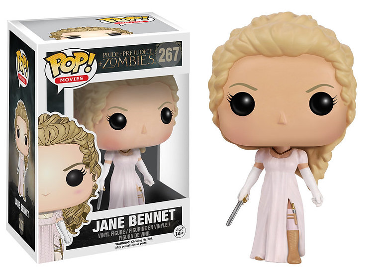Pop! Movies Pride & Prejudice & Zombies Vinyl Figure Jane Bennet #267 (Vaulted)