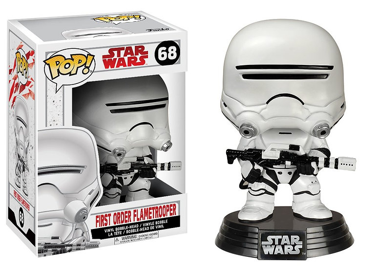 Pop! Star Wars The Last Jedi Vinyl Bobble-Head First Order Flametrooper #68