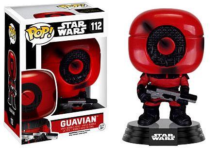 Pop! Star Wars The Force Awakens Vinyl Bobble-Head Guavian #112 (Vaulted)