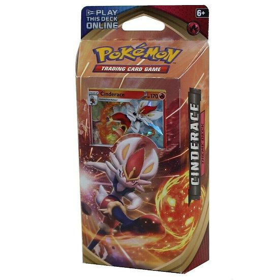 Pokemon TCG Sword and Shield Theme Deck Cinderace