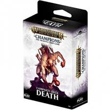 Age of Sigmar : Champions - Death Campaign Deck