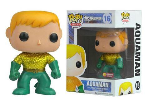 Pop! Heroes DC Universe Vinyl Figure Aquaman #16 PX Previews Exclusive