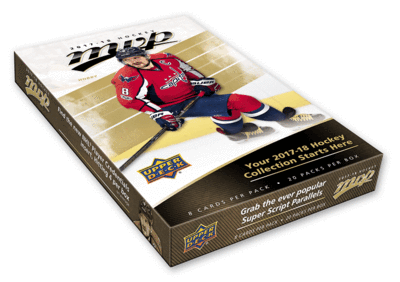 2017-18 Upper Deck MVP Hobby Box