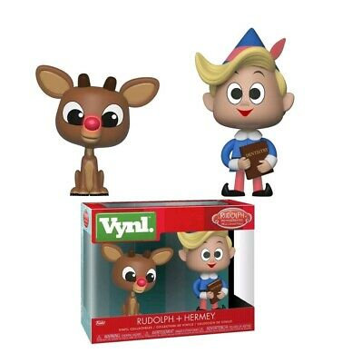 Funko Vynl Rudolph and Hermie Vinyl Collectibles