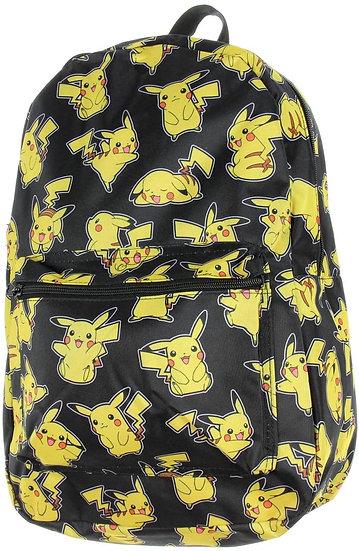 bioWorld Pokémon Pikachu All Over Print Sublimated Backpack