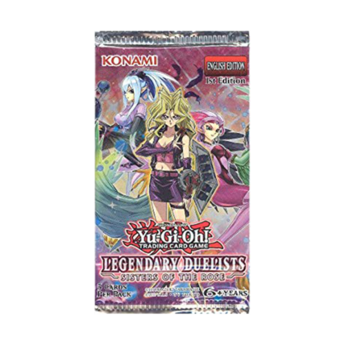 Yu-Gi-Oh! Legendary Duelists Sisters Of The Rose Pack